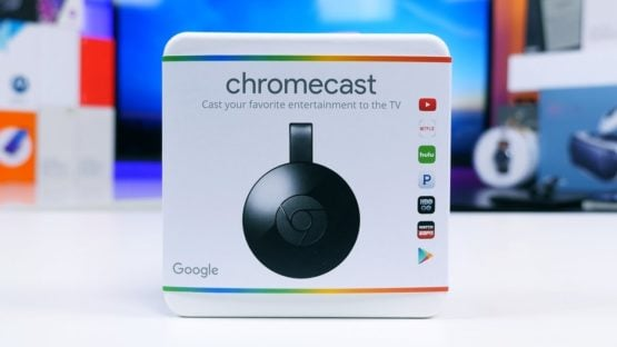 Chromecast TV II Black REFAA 4