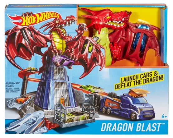 Hot Wheels Dragon Explosivo 1