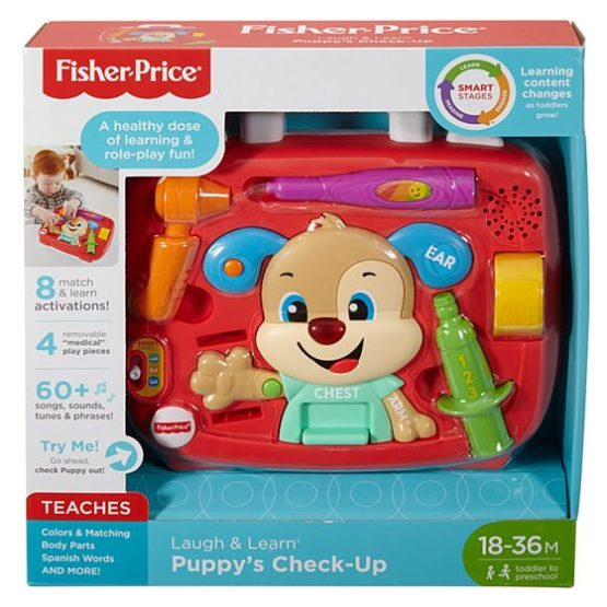 Perrito Botiquín Médico de FISHER PRICE 6
