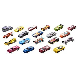 HOT WHEELS PACK DE 20 VEHICULOS COLECCIONABLES 5