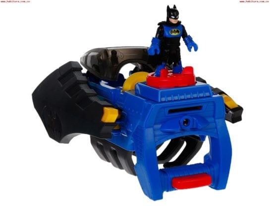 Batilanzador 2 en 1 Imaginext® DC Comics de FISHER PRICE 1