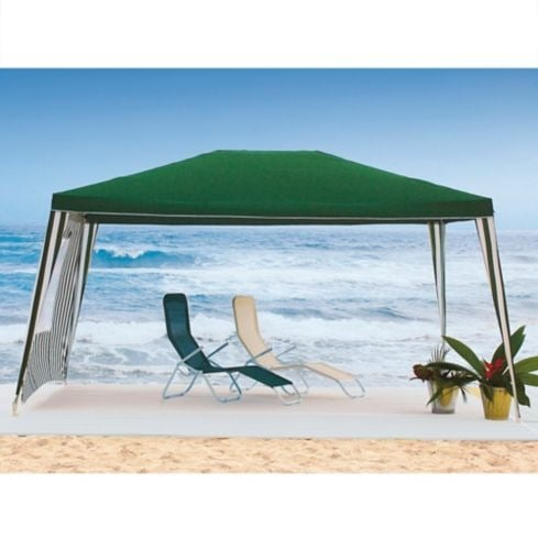 GAZEBO POLIESTER VERDE - JUST HOME COLLECTION 1