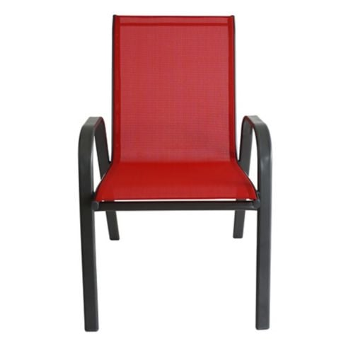 Silla Sling textileno rojo Just Home Collection 2