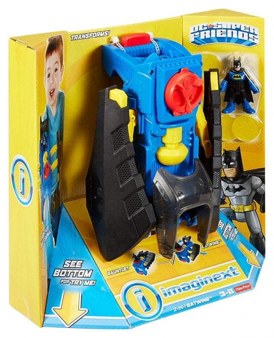 Batilanzador 2 en 1 Imaginext® DC Comics de FISHER PRICE 11