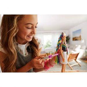 Muñeca Barbie® Peinados de Arco Iris Brillante 19