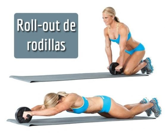 RUEDA DE ABDOMINALES EVOLUTION FITNESS 4