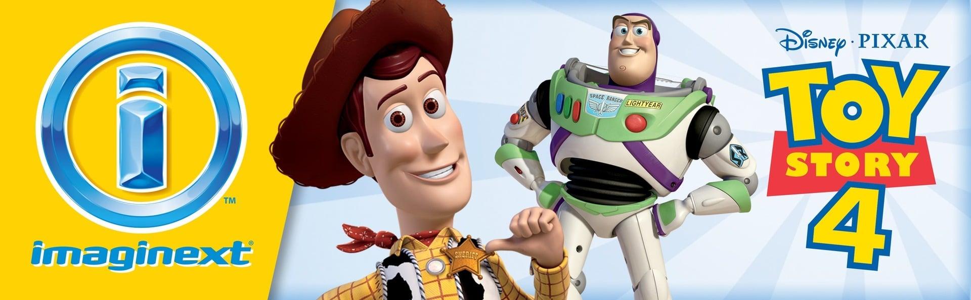 Juego Imaginext® con Disney Pixar Toy Story™ Parque Divertido 8