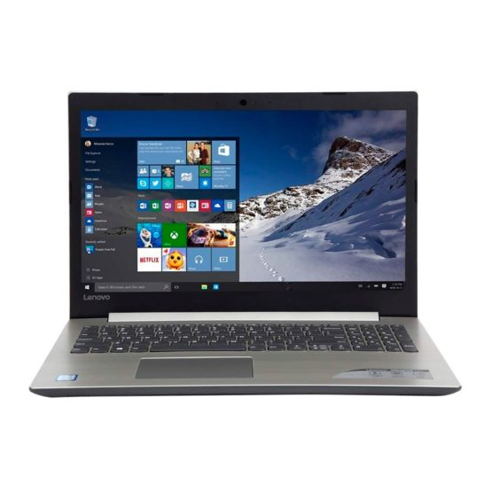 "Notebook Lenovo Ideapad 320 15,6""/ 1Tb/ 8GB REFAA 2"