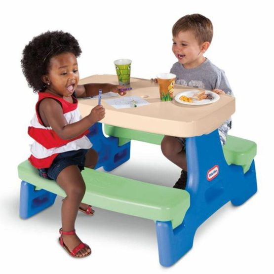 Mesa de Picnic Jr. Portatil Little Tikes 2