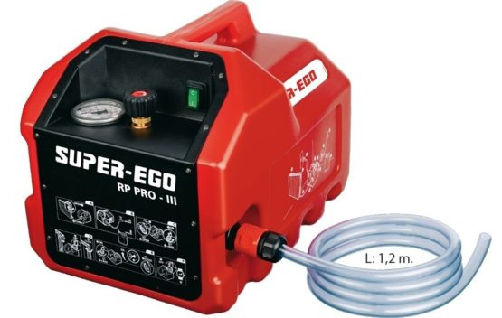 Bomba Comprobacion Tub. Electric (0-40BAR) Super Ego RP PRO III 1